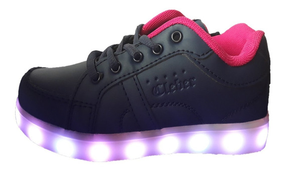 Zapatillas Con Luces (23-33) Recargables Usb