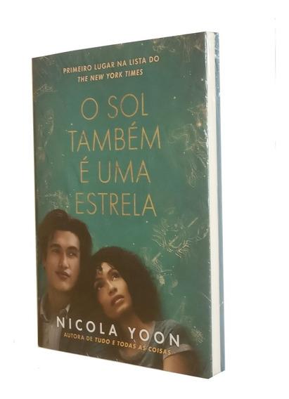 Livro - O Sol Também É Uma Estrela - Nicola Yoon - Novo