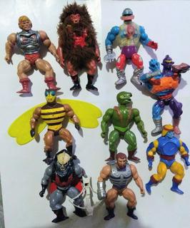 Heman Motu Lote Mattel X 10 Figuras Vintage