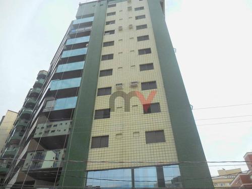 Apartamento Residencial À Venda, Vila Tupi, Praia Grande. - Ap0027