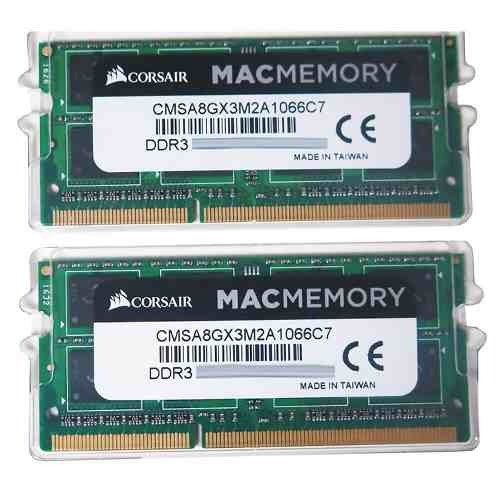 Kit Memoria 8gb 2x4gb 1066mhz Ddr3 Corsair iMac Macbook