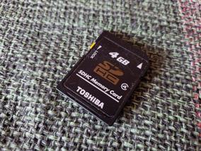 Cartão De Memória Sd D50 4gb Original Toshiba