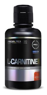 L-carnitine Líquida 2000mg Probiótica 400ml - 10x S/ Juros
