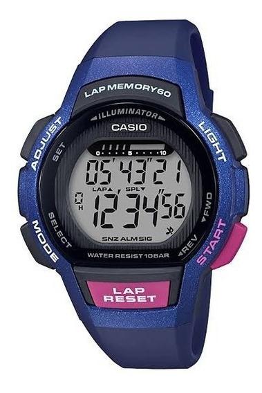 Reloj Digital Deportivo Casio Para Dama Lws-1000h-2avcf
