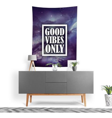 Imagem 1 de 3 de Tecido Decorativo Decoração Tactel Interto Externo Good Vibe