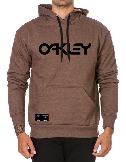 Moletom Oakley Escrito Blusa De Frio Blusao Casaco Promoção
