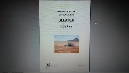 Manual Catalogo De Taller Cosechadora Gleaner R62/72