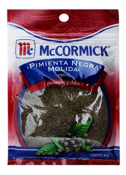 Pimienta Negra Mccormick Molida 40 Gr