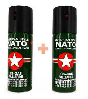 2x1 Gas Pimienta Defensa Personal Aerosol Peper + Carnet!