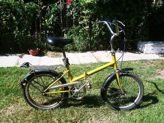 Bicicleta Legnano Plegable Original Rodado 20