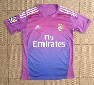 Camisa Supporter Real Madrid 2013/2014 Goleiro Roxa