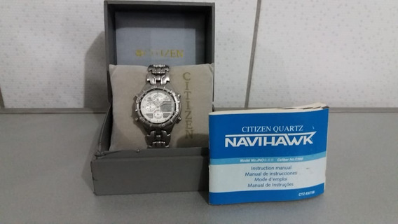 Citizen Navihawk C300 - Fundo Branco Raro