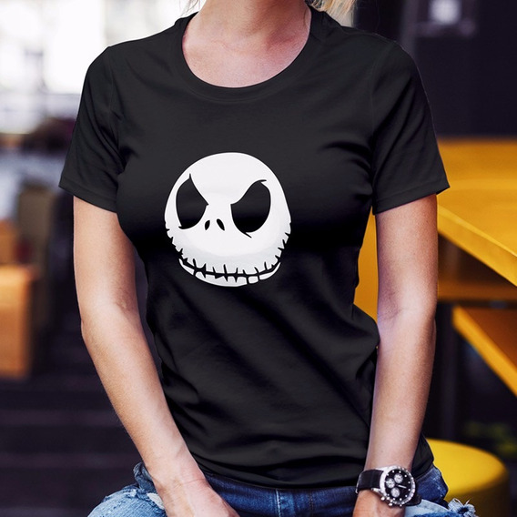 Playera Jack Skellington Tim Burton Nightmare