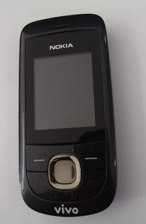Nokia 2220 Slide Semi Novo Só Vivo Rádio Fm Câmera
