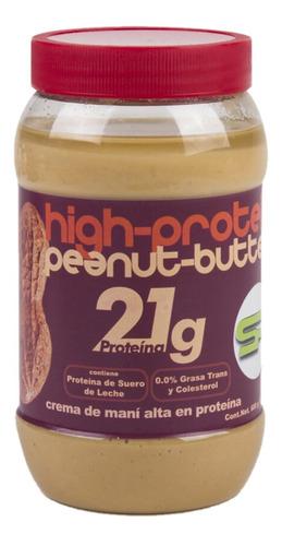 Crema De Cacahuate Alta En Proteina Sportivo 600g