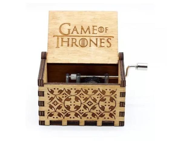 Caixinha Caixa De Musica Game Of Thrones - Pronta Entrega