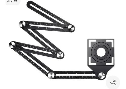 Imagen 1 de 9 de Regla De Construcción  Para Medir Ángulos