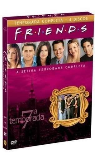 Box Friends 7º Sétima Temporada Completa 4 Dvds - Lacrado