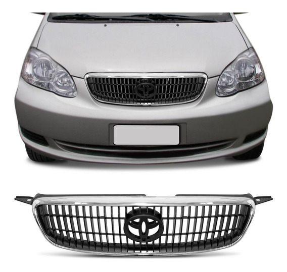Grade Corolla Fielder 2003 2004 2005 2006 2007 Sem Emblema