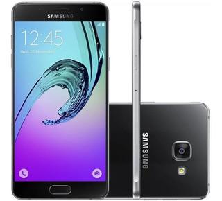 Galaxy Samsung A7 Preto 16gb Câmera 13mp 5mp Leitor Digital