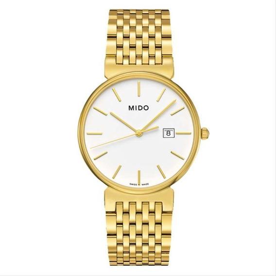 Relógio Mido Dorada Goldtone - M009.610.33.011.00