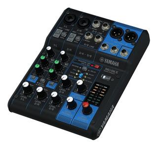 Consola Mixer De Sonido Yamaha Mg06x / Envío Gratis, Dist.