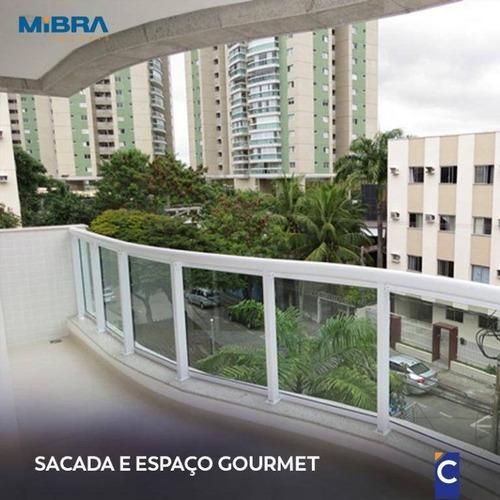 Apartamento 3 Quartos Em Jardim Camburi - Ap0457