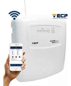 Central De Alarme Alard Max Wifi Ecp Com 1 Controle