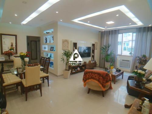 Apartamento À Venda, 3 Quartos, 1 Suíte, 1 Vaga, Lagoa - Rio De Janeiro/rj - 26098