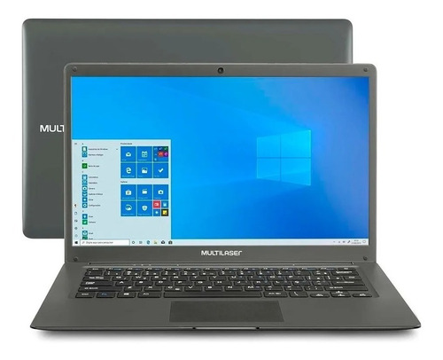 Notebook Multilaser Legacy 32gb Intel Win10 Quadcore 2gb Ram