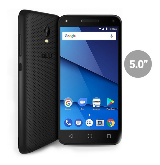 Celular Blu Dash L5 4g Lte 1gb 8gb Doble Camara Flash Moto