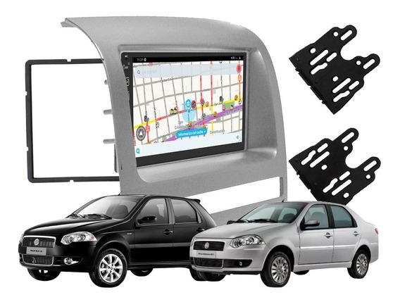 Stereo Pantalla Tactil P/ Fiat Siena Palio Strada Espejo Gps
