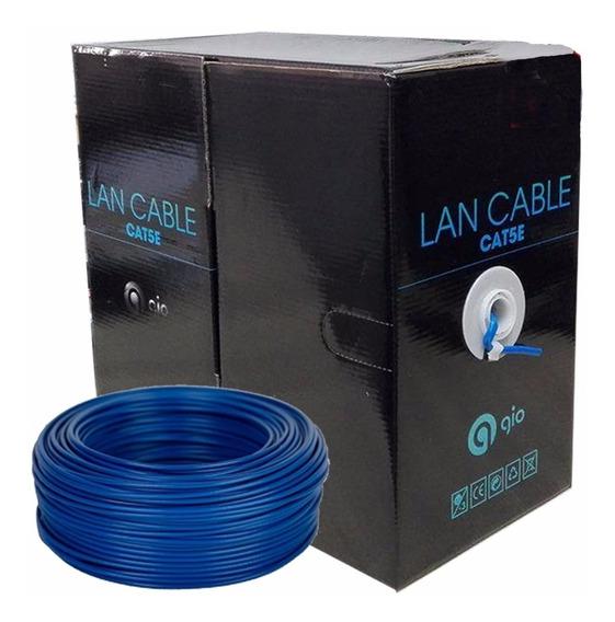 Bobina Cable Utp Cat5e 305 Mts Rj45 Cctv Seguridad Lan