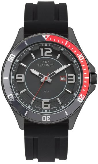 Relógio Technos Masculino Racer 2115msi/8p Aço Preto