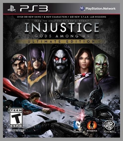 Injustice Gods Among Us Ultimate Edition Ps3 -leia Descrição