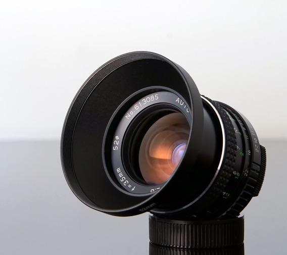 Lente Revuenon 35mm 2.8 - M42 -sony - Canon - M.4\3 - Fujix