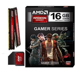 Memória 16gb Ddr3 Kit (2x8) Pc3-12800 Amd Radeon