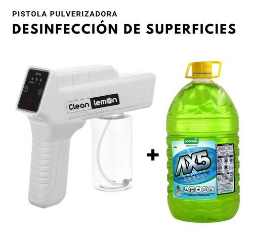 Pistola De Desinfección Por Pulverización Portátil + Desinfe