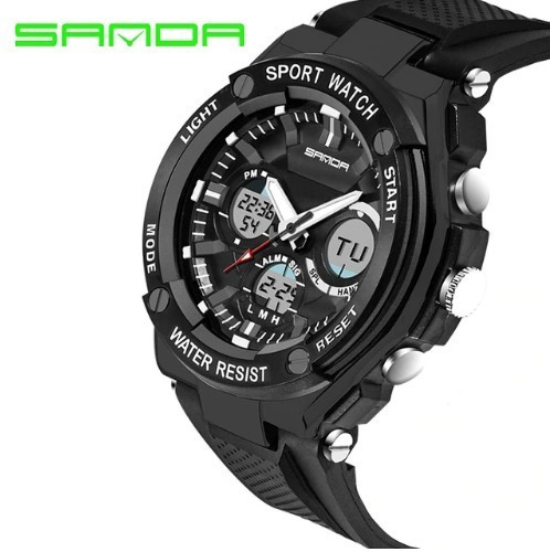 Relógio De Pulso Sanda 733 Original Importado