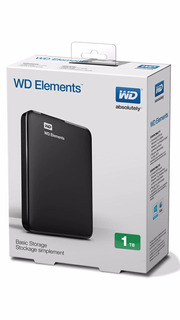 Disco Rigido Wd 1tb Portatil Elements 3.0