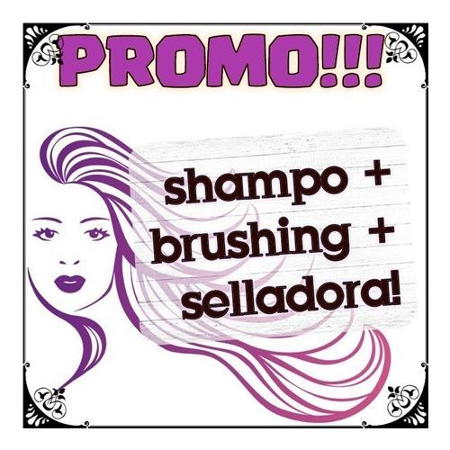 Pack 1 Litro Alisado Progresivo + Shampo Neutro + Selladora