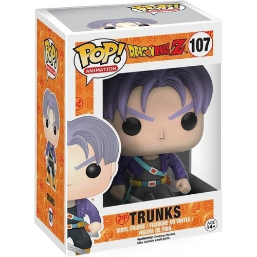Funko Pop Dragon Ball Z 107 Trunks Magic4ever