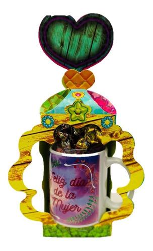 Regalo Mujer Mug 11 Onz, Personalizado, Dulces Feliz Dia