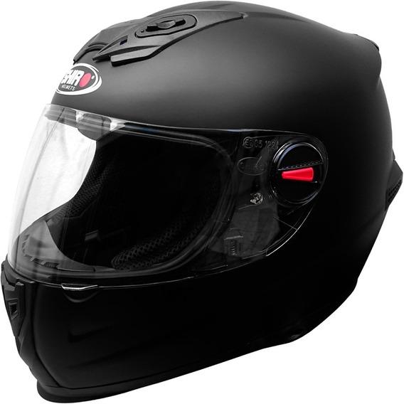 Casco Integral Moto Shiro Sh 881 Monocolor Matt Black Yuhmak