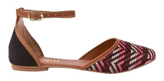 Sapatilha Sapato Feminina Chiquiteira Chiqui/5437