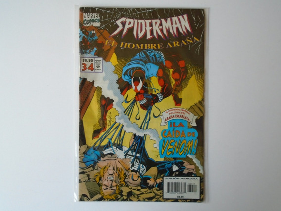 Spider-man El Hombre Araña Marvel Comic No.34 1994 Intermex