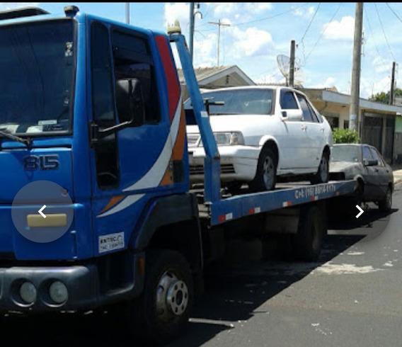 Caminhão Guincho Plataforma Com Asa Delta