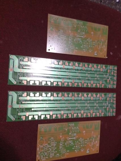 2x Placa Lisa Amplificador 1600w /serve No Gradiente