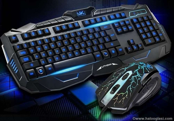 Kit Pc Gamer Teclado + Mouse + Mouse Pad Gamer