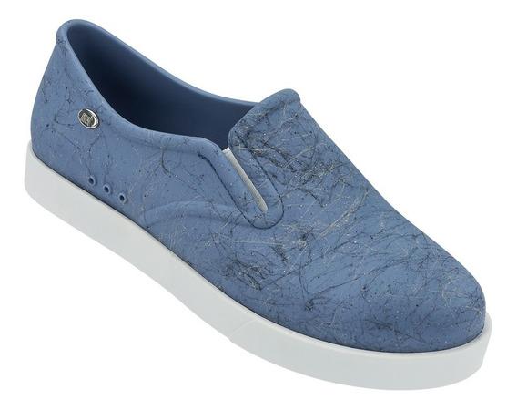 Mel Kick Zapato Flat Dama Azul Mel By Melissa
